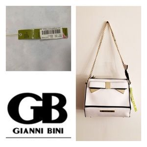New Gianni Bini Crossbody Purse Gold Chain Strap